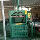 FX-DBJ半自动立式废纸液压打包机 油桶压扁机批发