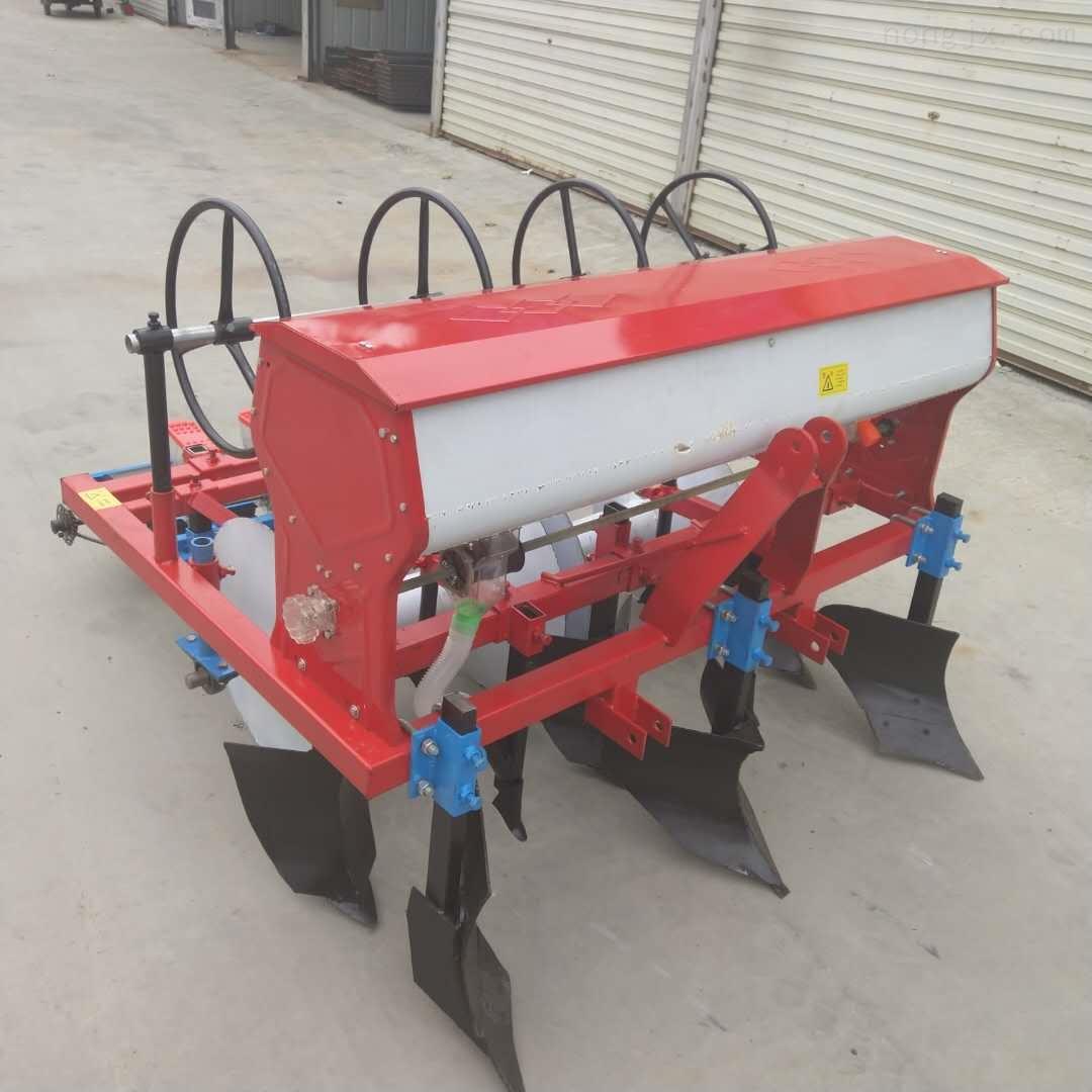 汽油玉米施肥精播机小型手推耘锄机播种机