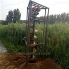 JX-WK挖树坑螺打窝机 葡萄园大棚打桩机