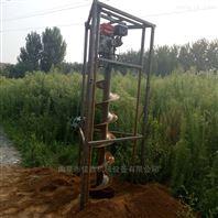挖树坑螺打窝机 葡萄园大棚打桩机