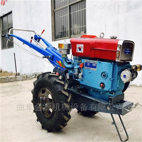 柴油手扶打田機 手扶拖拉機玉米收割機頭