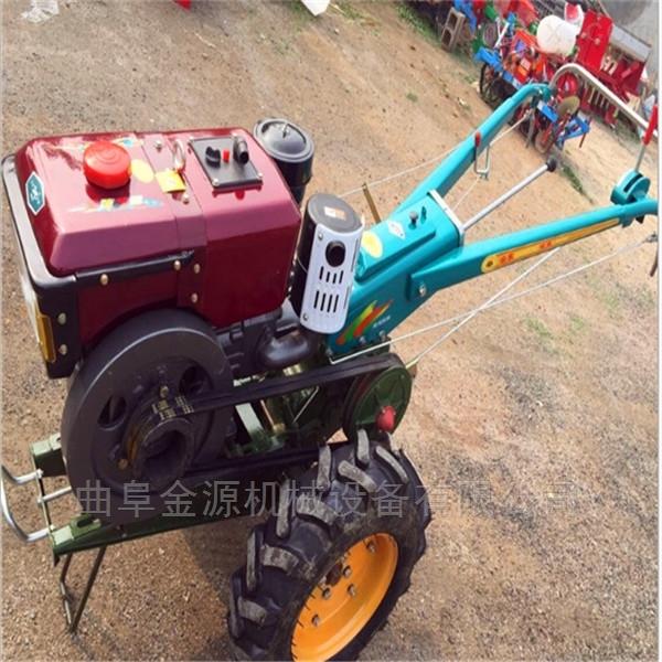 電啟動水冷式手扶拖拉機 農用土地耕整機
