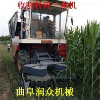 稻麦秸秆收割机 养殖青贮收割粉碎揉丝机