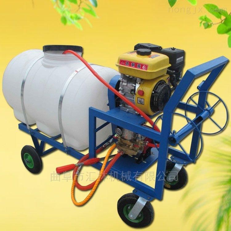 园林打药车喷雾机 小型手推式打药机价格