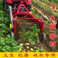 手扶红薯土豆收获机