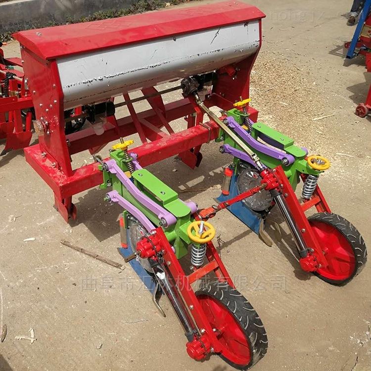 四轮配套谷物播种机