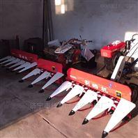 多功能稻麦割晒机 割台前置双割台