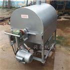 xnjx-15燃气电加热炒料机大豆花生芝麻滚筒炒货机