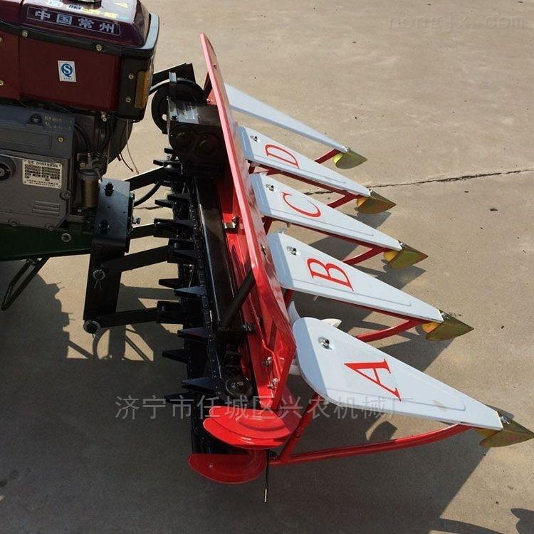 玉米秸秆粉碎还田机手扶式新型稻麦收割机