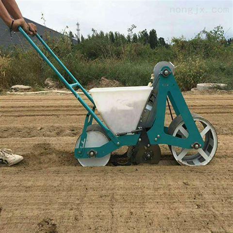 小型手推大蒜种植机自走式大蒜播种机