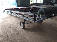PVC食品皮带输送机定制厂家 大倾角皮带机