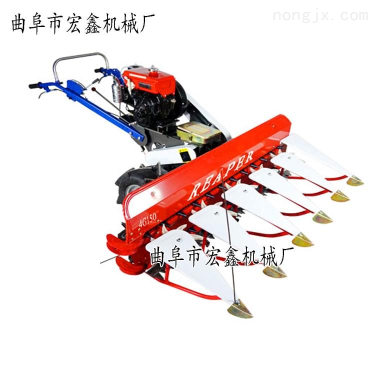 四轮拖拉机配套割晒机皇竹草割倒机割台