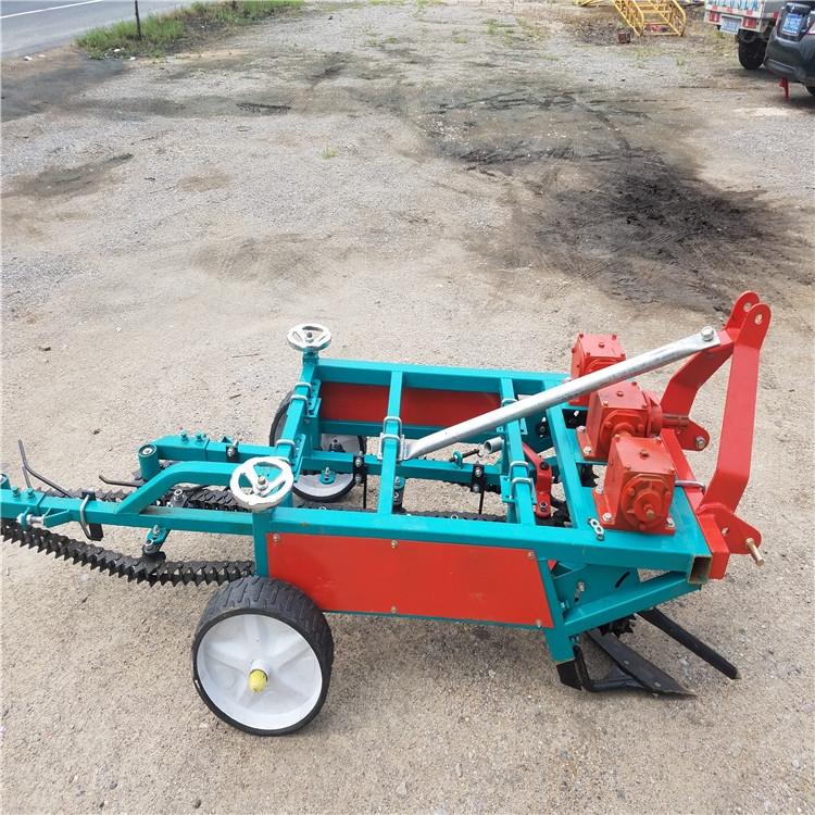 手扶拖拉机花生收获机 高效率工作起果机