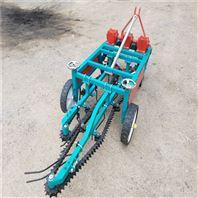 菏泽链条式花生收获机 果秧分离干净收果机