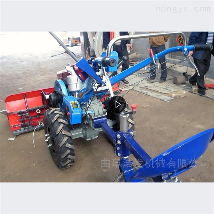 前置割台割晒机拖拉机带 大豆高粱收割机