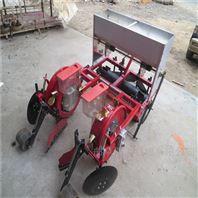 轻便型汽油播种机 四轮带动谷子施肥种植机