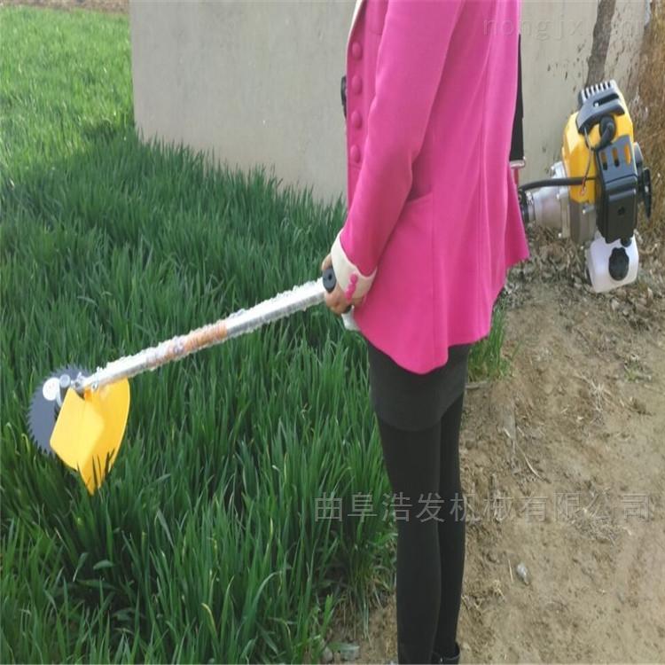 果园两冲程小型除草机 汽油动力手推割草机