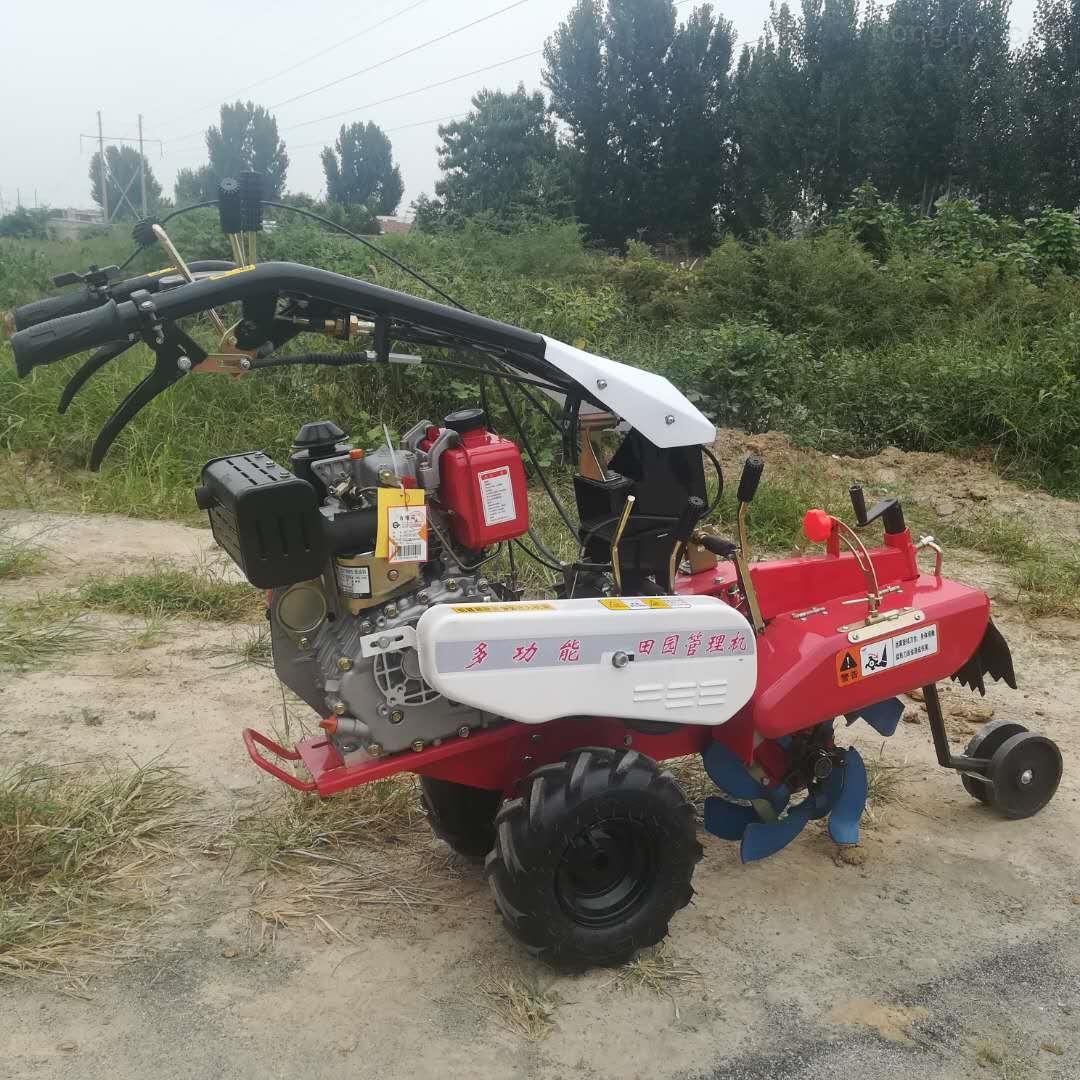 小型開溝培土機多功能除草旋耕機