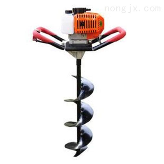 园林栽树挖坑机小型钻坑机 重量轻