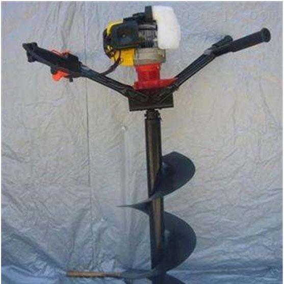 中型輕便式挖坑機大馬力汽油鑽眼機 易維修