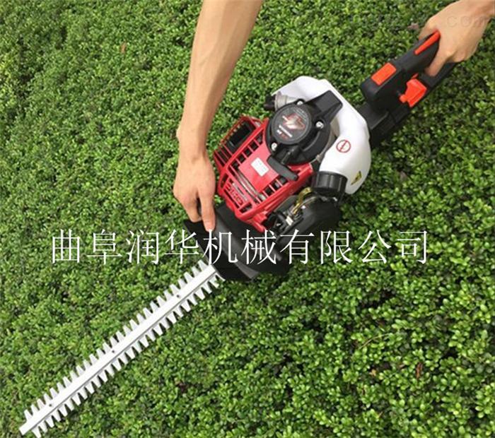灌木修剪园林剪枝机 手持双面汽油绿篱机