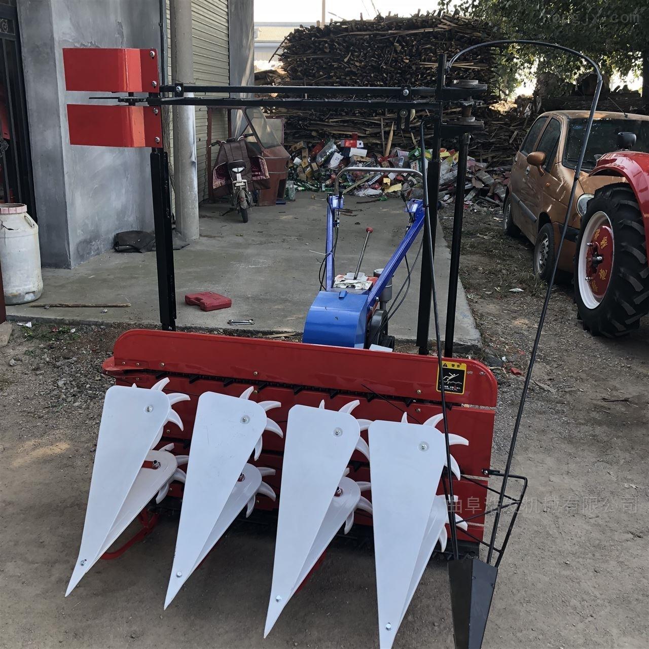 拖拉机前置式玉米割晒机视频 轻便式割台