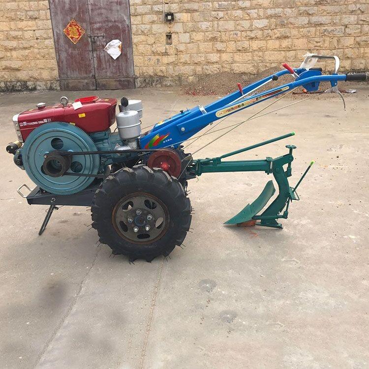 小型多功能微耕机电启动免手摇手扶拖拉机
