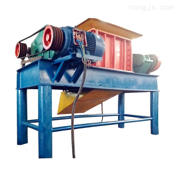废旧铁管材金属粉碎机  大型油漆桶快速撕