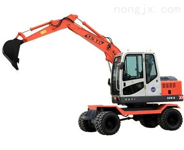 W65-8农用挖掘机