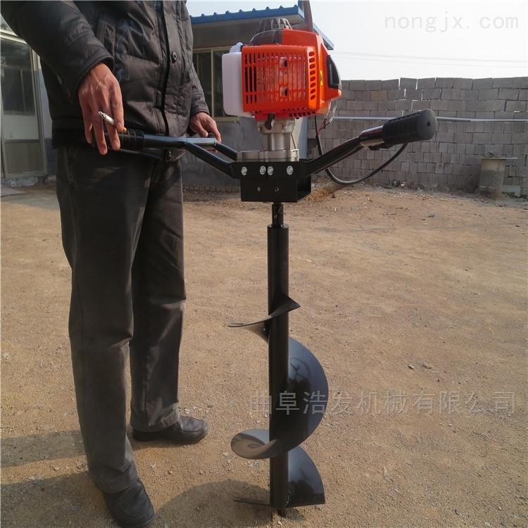 加长钻头定螺旋挖坑机 多功能拖拉机地钻机