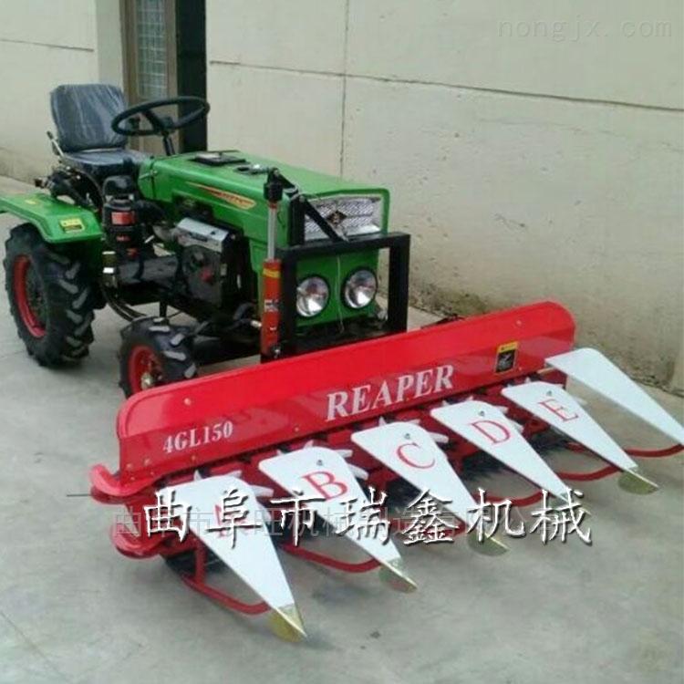 小型牧草收割机  手扶自走式稻麦割台