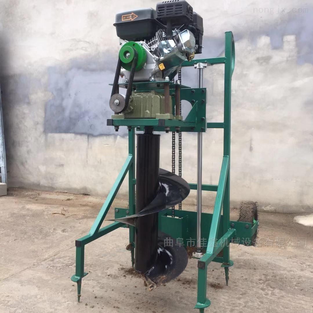 拖拉机动力刨穴机  悬挂式植树挖坑机
