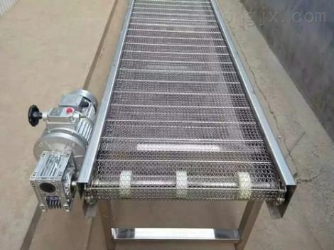 西宁食品专用输送机 批量加工白色裙边网带提升机xy1网带输送机