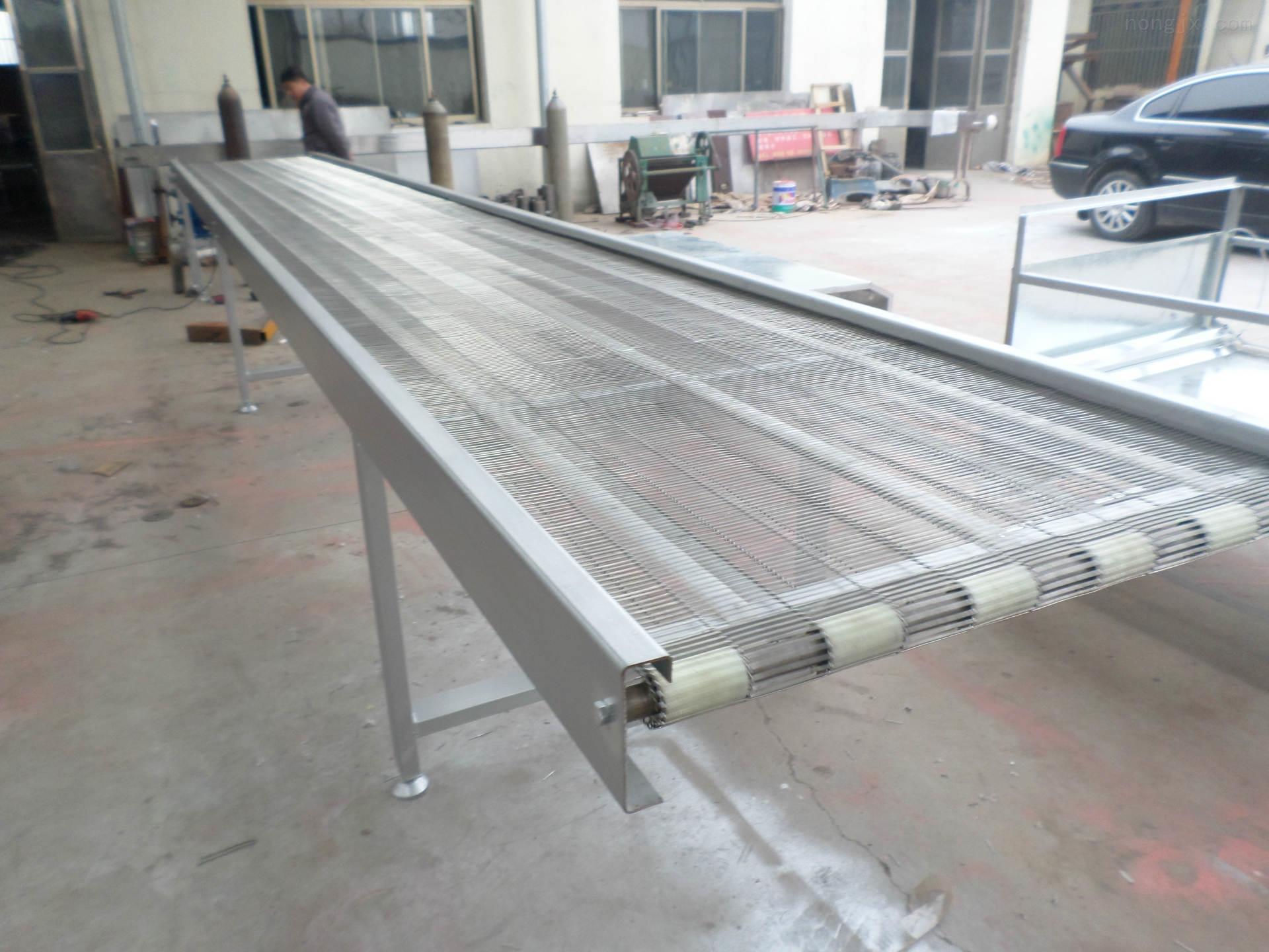 郑州食品专用输送机 热销模块网带输送机xy1网带输送机