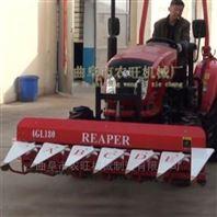 四轮牵引式茴香香菜收割机 水稻辣椒割晒机