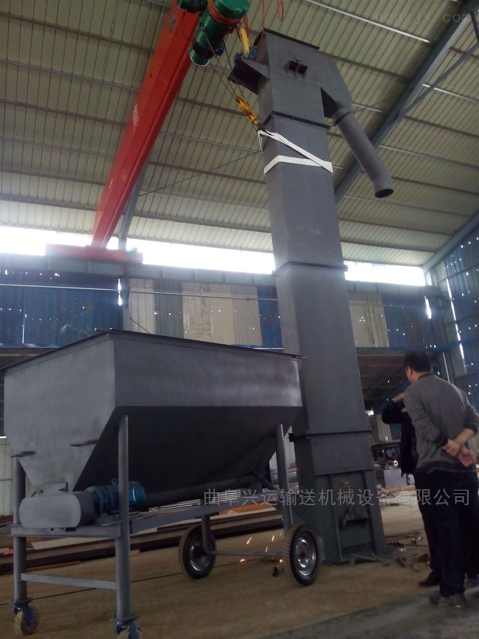 NE重型斗式上料机 带检修平台斗式提升机