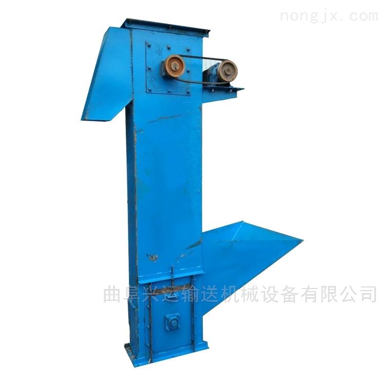 化肥颗粒用斗式提升机  石粉用多斗式上料机