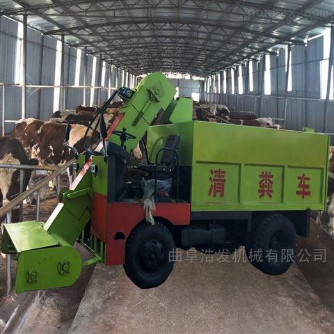 畜牧机械设备清粪车 自卸式不同容量出粪车