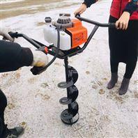 果园茶园手提式打洞机 柴油手推挖坑机