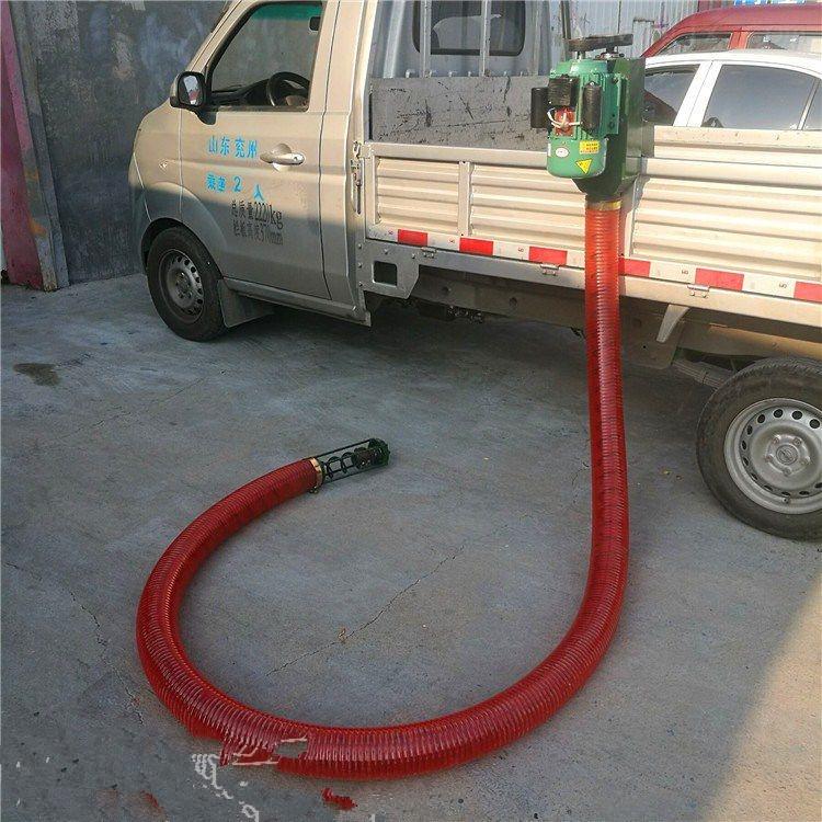 电动车载式吸粮机 长距离软管装粮机