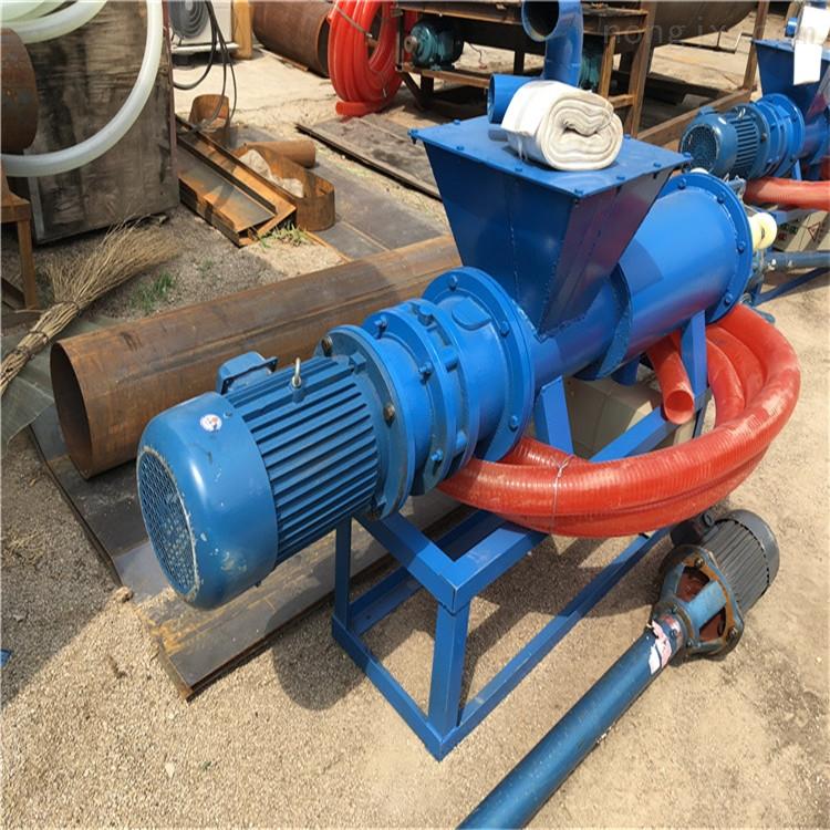 牛粪分离机水泵 定做螺旋挤压式鸡粪脱水机