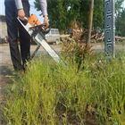 大功率手推式地钻机挖坑机 种树种植钻坑机