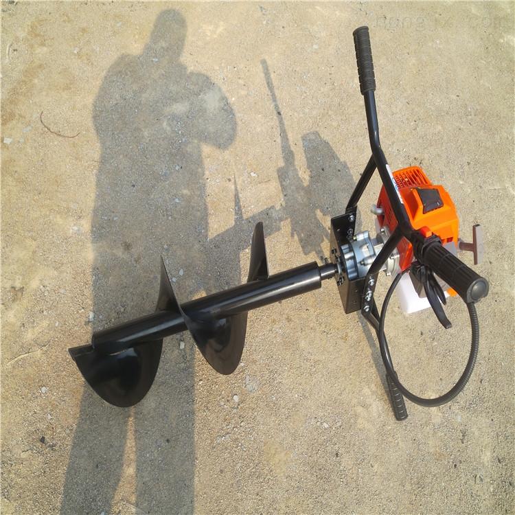 种树机 工地埋桩挖坑机 四轮拖拉机带钻坑机