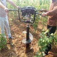 打坑机批发 栽树挖坑机 螺旋地钻施肥机