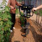 灵活轻便起苗挖坑机 设计新颖汽油打坑机
