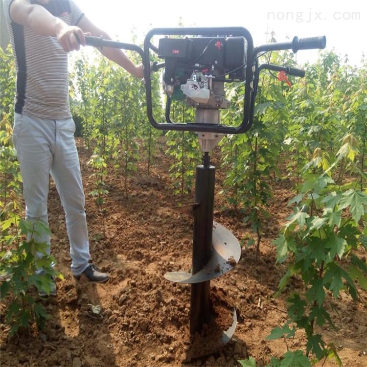 植樹打坑鉆眼機 四輪打坑機 種果樹挖坑機