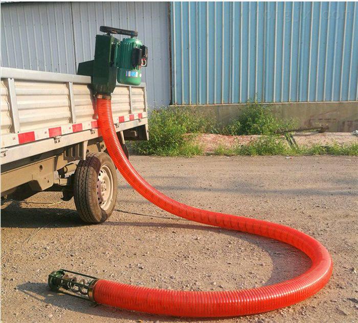 电动车载式蛟龙吸粮机 粮商收玉米抽粮机