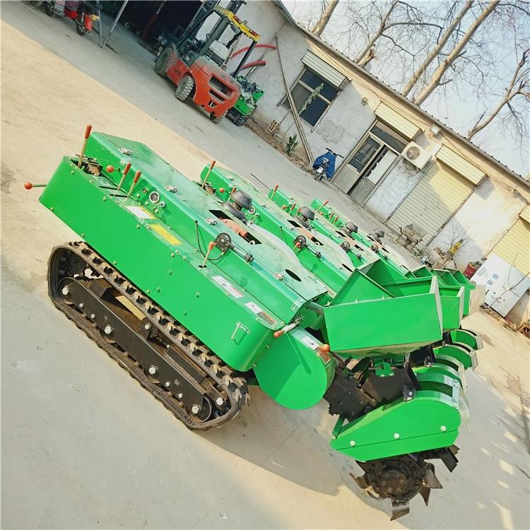 柴油28马力履带式开沟机低果树除草机