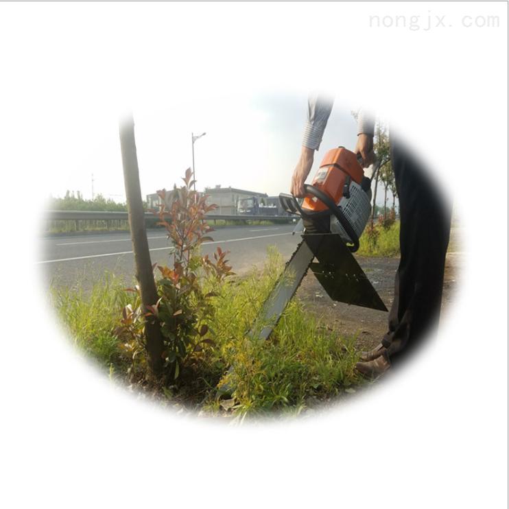 大功率汽油挖树机 大直径土球的树木移栽机