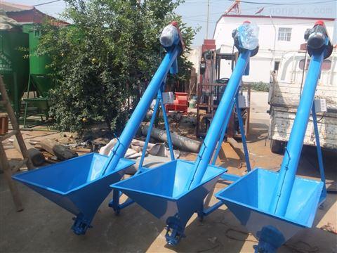 自动化上料钢管提升机 螺旋杆有机肥输送机